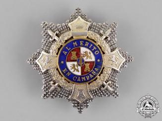Spain, Franco Period. A War Cross Breast Star, c. 1940