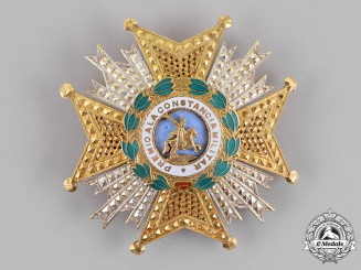 Spain, Constitutional. A Royal and Military Order of Saint Hermenegildo, 2nd Class Cross, c. 1980
