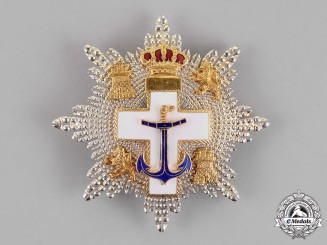 Spain, Constitutional. An Order of Naval Merit, White Distinction Cross, c. 1980