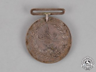 Turkey, Ottoman Empire. A Medal for Ottoman-Greek War of 1897