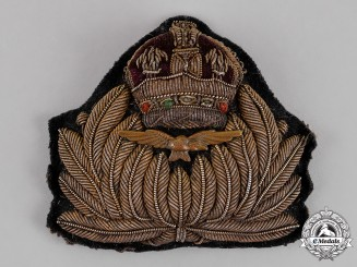 Great Britain. A Royal Naval Air Service (RNAS) Officer's Cap Badge, c.1916