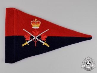 Canada. An Army Brigadier-General's Pennant, c.1960