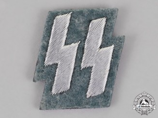 Germany. A Set of SS Police Tunic Runes