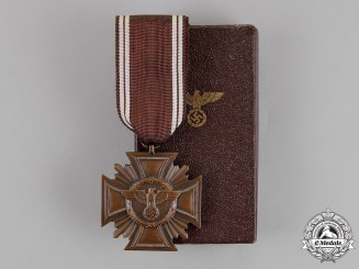 Germany. A Mint NSDAP Long Service Award, for 10 Years of Service, by Christian Lauer