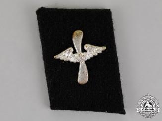 Germany. A Single SS Flying Units (SS-Fliegersturm) Collar Tab