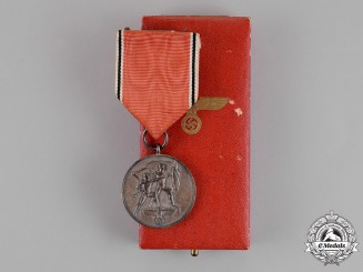 Germany. A Cased Austrian Anschluss Medal by the Official Vienna Mint