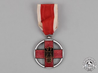 Germany. A DRK (German Red Cross) Service Medal