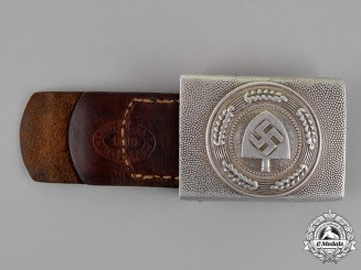 Germany. A RAD Standard Issue Belt Buckle, by Berg & Nolte, c. 1936