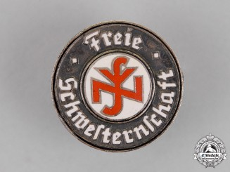Germany. A National Socialist People's Welfare Free Sisterhood Badge