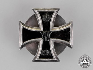 Germany. An Iron Cross 1st Class, Screw Back Version, c.1915