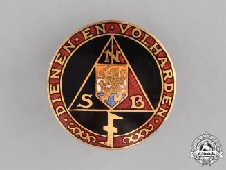 Netherlands. An NSB Members Badge