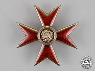 Mecklenburg. An Order of the Griffin; Officer's Cross, c.1915