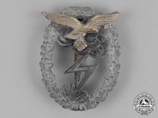 Germany, Luftwaffe. A Ground Assault Badge, by Rudolf Karneth & Söhne