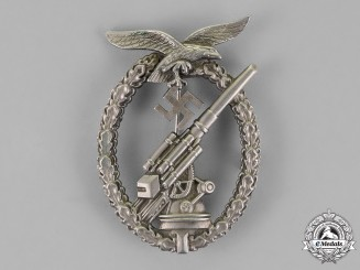 Germany, Luftwaffe. An Early Flak Artillery Badge
