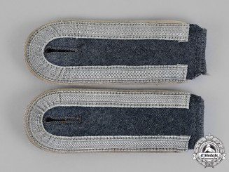 "Germany. A Set of Luftwaffe Parachute-Panzer Division ""Hermann Goering"" NCO's Shoulder Straps"
