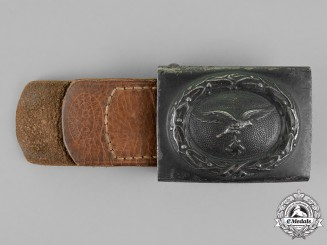 Germany. A Luftwaffe Standard Issue Enlisted Man's Belt Buckle by R. Sieper & Söhne, c. 1941