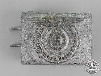 Germany. A Waffen-SS Standard Issue Enlisted Man's Belt Buckle