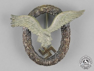 Germany, Luftwaffe. A Pilot's Badge, by JMME