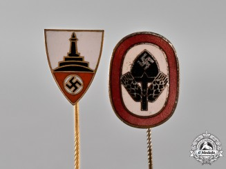 Germany. Two Stick Pins