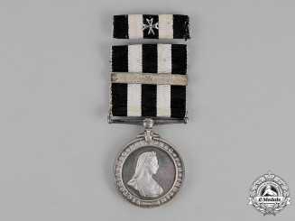 United Kingdom. A Service Medal of the Order of St. John, 1945