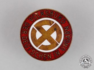 Hungary. An NSDAP Party Badge