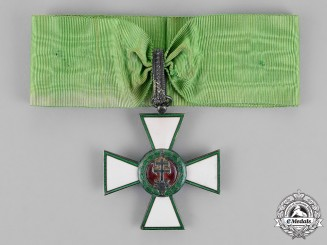 Hungary, Kingdom. An Order of Merit, II Class Commander's Neck Badge, c.1940