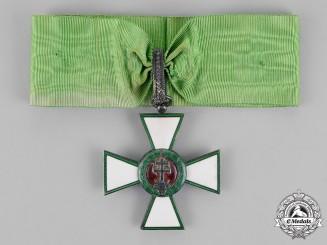 Hungary, Kingdom. An Order of Merit, II Class Commander's Neck Badge, c.1940