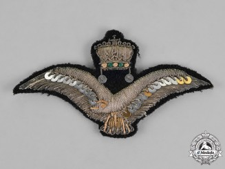Hungary, Regency. A Fine Hungarian Air Force Warrant Officer's/Sergeant's Cap Badge