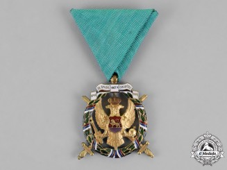 Montenegro. A 1920 Commemorative Victory Medal