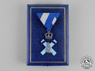 Serbia, Kingdom. A Cased Orthodox Order of St. Andrew, c.1942