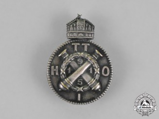 Hungary. A Artillery Regimental Badge, 1915