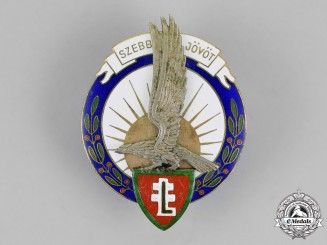 Hungary. A Levente Leader's Badge, c.1944