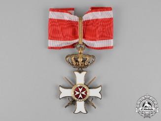 Italy, Kingdom. A Sovereign Military Hospitaller Order of Saint John of Jerusalem, Commander