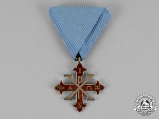 Italy, Duchy of Parma. A Sacred Military Constantinian Order of St. George, Knight's Cross 2nd Class, c.1930