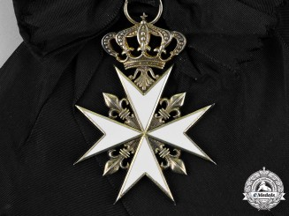 France, Republic. A Most Venerable Order of the Hospital of Saint John of Jerusalem, Grand Cross