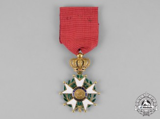 France, July Monarchy. A Légion D'honneur in Gold, Chevalier, c.1840