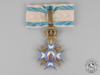 Serbia. An Order of St. Sava, Commander, by  G.A. Scheid, c.1905