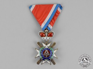 Serbia, Kingdom. An Order of the Cross of Takovo, 4th Class, c.1900