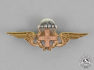 Portugal, Kingdom. An Airborne Medic's Badge