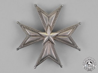 Sweden, Kingdom. An Order of the North Star, Grand Officer Star, c.