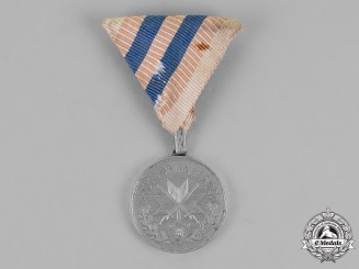 Croatia. A Wound Medal, Iron Medal for Two Wounds