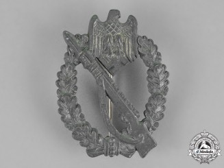Germany. An Infantry Assault Badge, Silver Grade, by Sohni Heubach & Co.