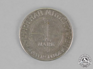 Germany. A 1 Mark Donation Coin