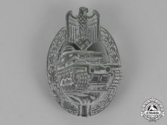 Germany. A Tank Badge, Silver Grade