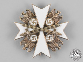 Germany. An Order of the German Eagle, Second Grade with Swords, by Godet & Co.