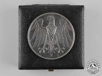 Germany. A Life Saving Honour Medal in its Presentation Case of Issue