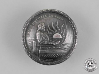 Latvia. An SS/Heer Nurse's Badge