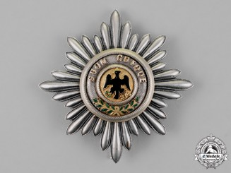 Prussia, State. A High Order of the Black Eagle, Star to the Cross of the Order, c.1855