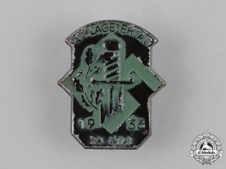 Germany. A 1936 Commemorative Schlageter Tag Badge