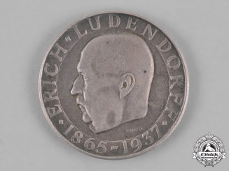 Germany. A 1937 General Erich Ludendorff - Feldhernn Commemorative Coin, by the Official Vienna Mint